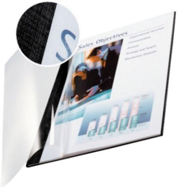 Buchbindemappe A4 für 36-70 Blatt Softcover, schwarz (7399-00-95) Leitz