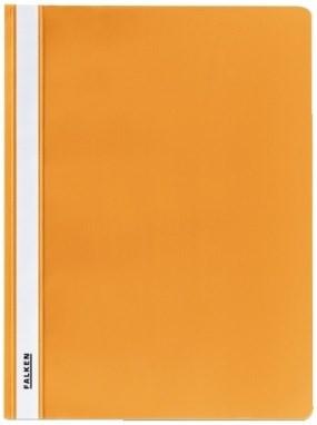 Schnellhefter A4 Plastik orange Falken (00075069/11298874)