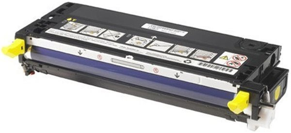 Original Toner Dell 593-10221 (zb 3115CN), ca. 8.000 S., gelb, im Epson-Kart.