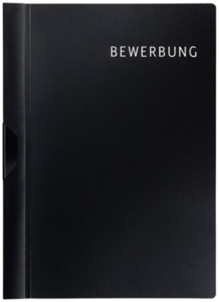 Bewerbungsset Klemmhefter A4 Leitz schwarz (4168-00-95)