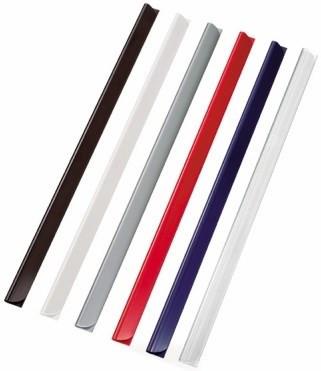 Klemmschienen 3mm Füllhöhe A4 Leitz transparent Kleinpack für 30 Seiten (80g/m2)
