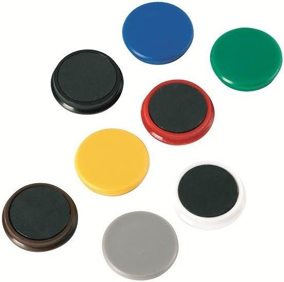 Magnete rund 24mm Alco schwarz